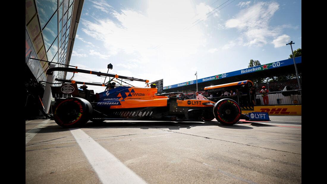 Lando Norris - McLaren  - Formel 1 - GP Italien - Monza - 7. September 2019