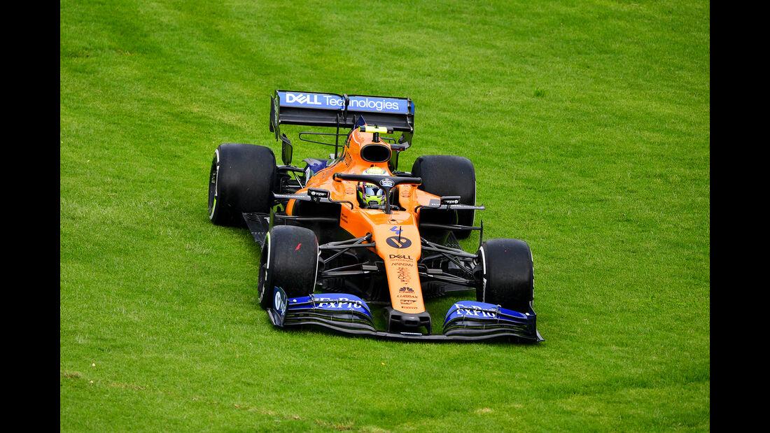 Lando Norris - McLaren - Formel 1 - GP Mexiko - 25. Oktober 2019