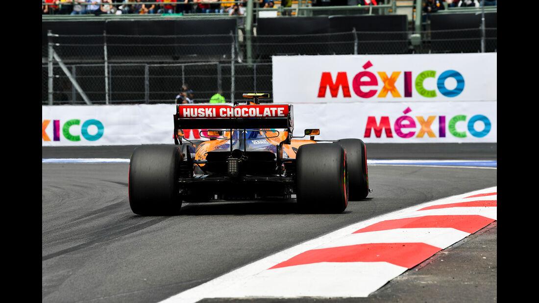 Lando Norris - McLaren - Formel 1 - GP Mexiko - 26. Oktober 2019