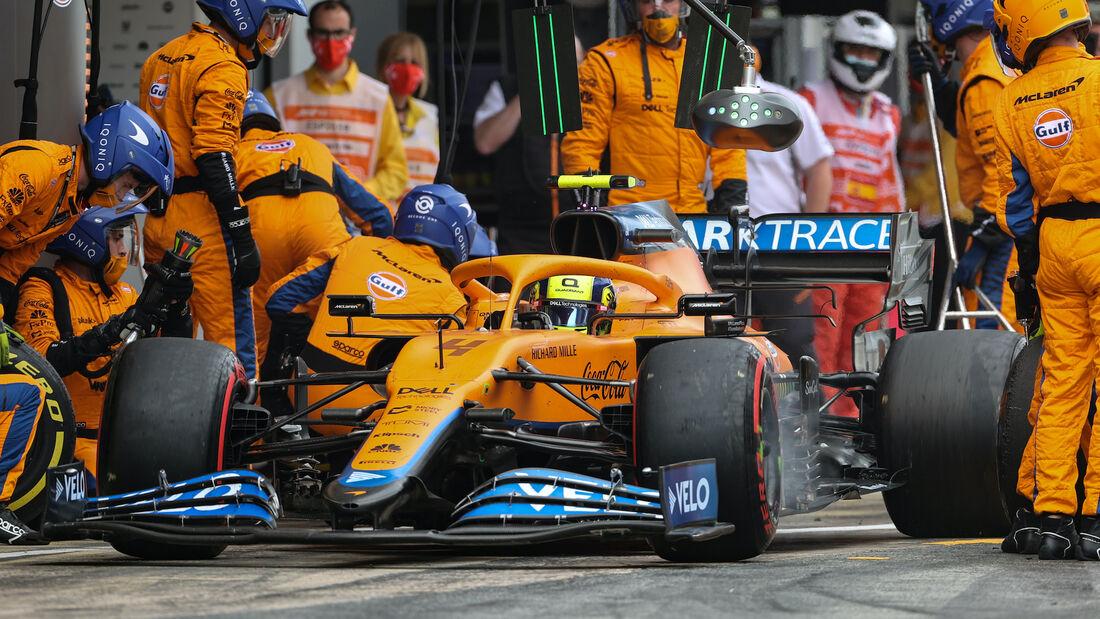 Lando Norris- McLaren - Formel 1 - GP Monaco 2021