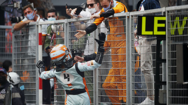Lando Norris - McLaren - Formel 1 - GP Monaco - 23. Mai 2021