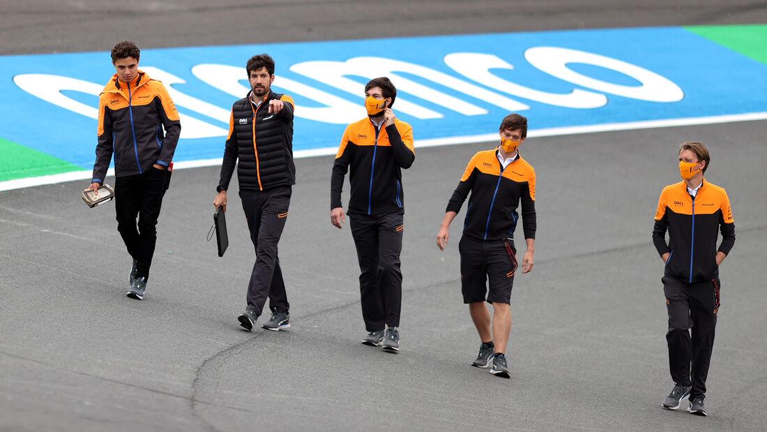 Lando Norris - McLaren - Formel 1 - GP Niederlande - Zandvoort - 2. September 2021