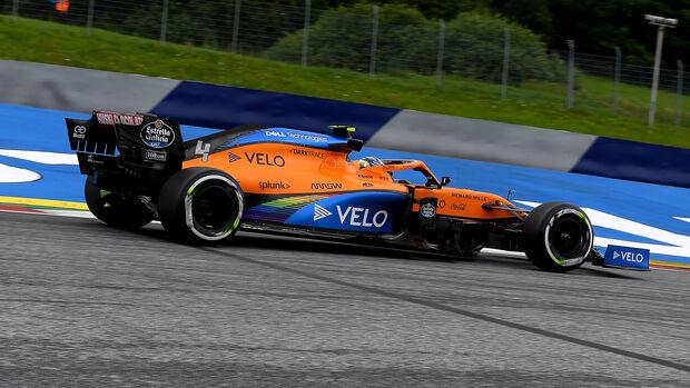 Lando Norris - McLaren - Formel 1 - GP Österreich - Spielberg - 3. Juli 2020