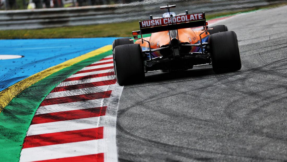 Lando Norris - McLaren - Formel 1 - GP Österreich - Spielberg - Freitag - 2.7.2021