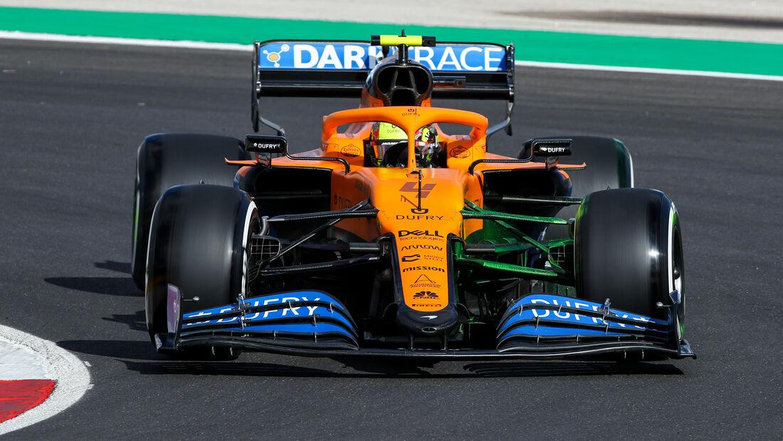 Lando Norris - McLaren - Formel 1 - GP Portugal - Portimao - 23. Oktober 2020