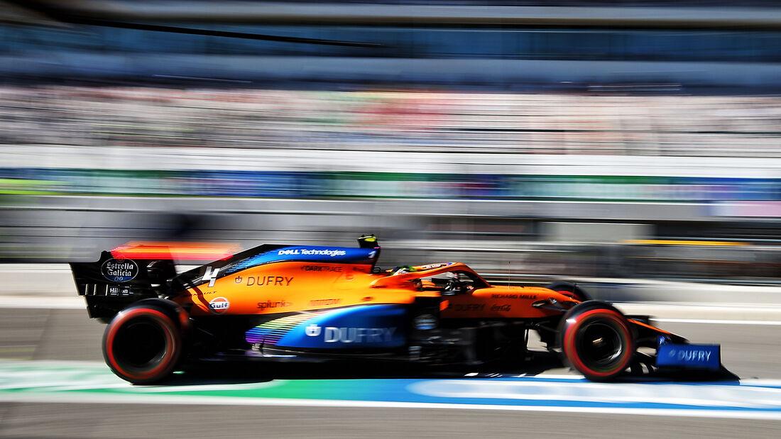 Lando Norris - McLaren - Formel 1 - GP Portugal - Portimao - 24. Oktober 2020