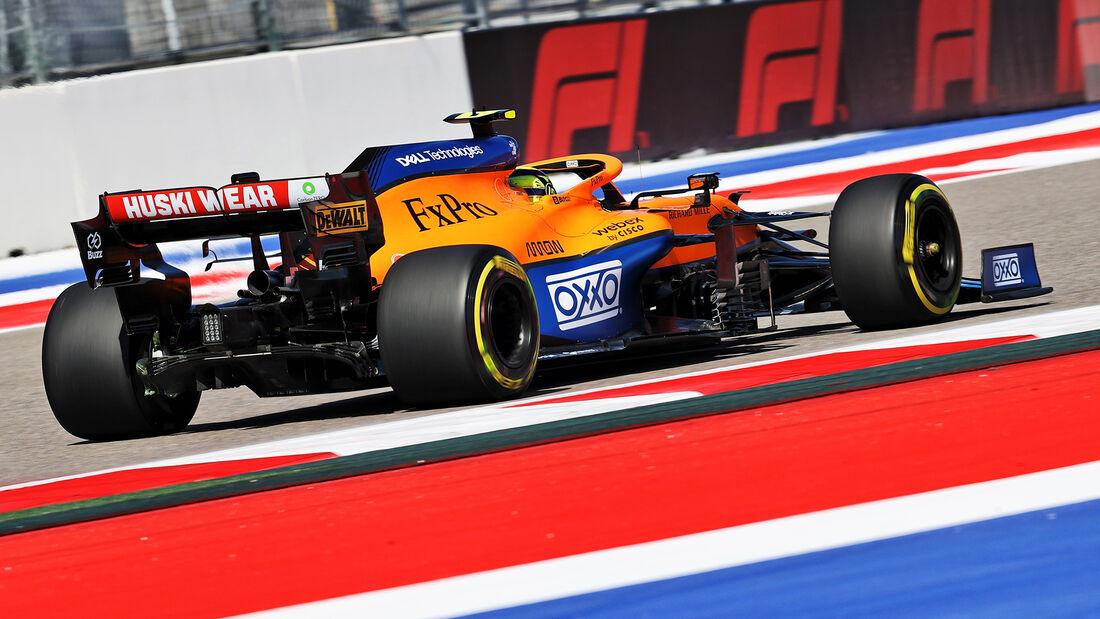 Lando Norris - McLaren - Formel 1 - GP Russland - Sotschi - 24. September 2021