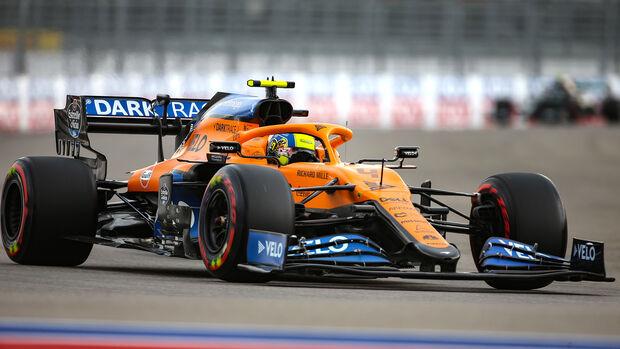 Lando Norris - McLaren - Formel 1 - GP Russland - Sotschi - 26. September 2020