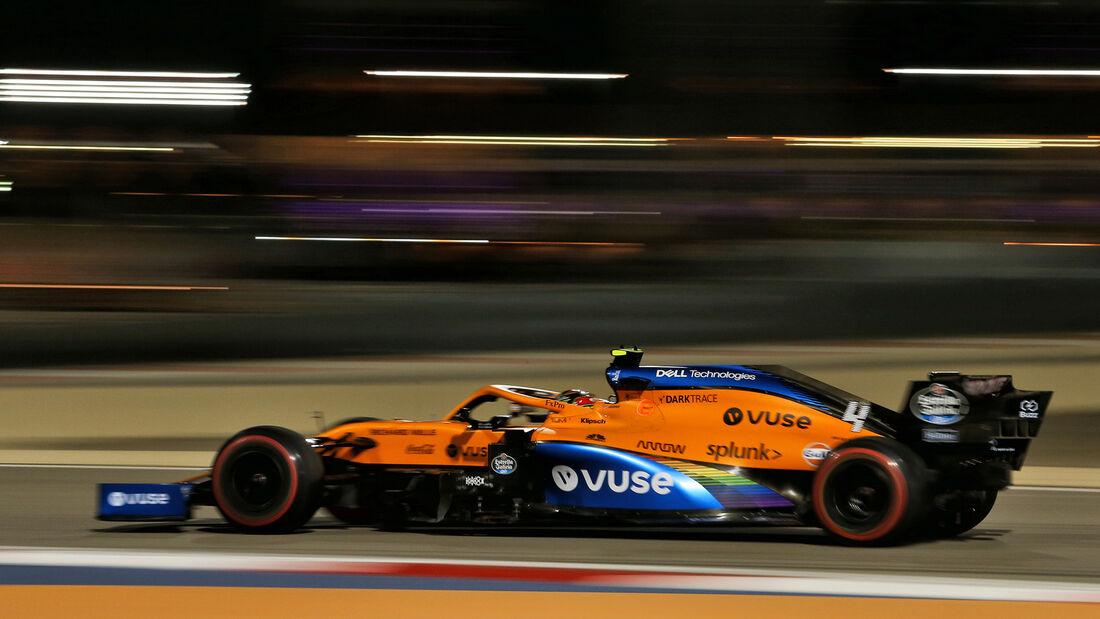 Lando Norris - McLaren - Formel 1 - GP Sakhir - Bahrain - Freitag - 4.12.2020