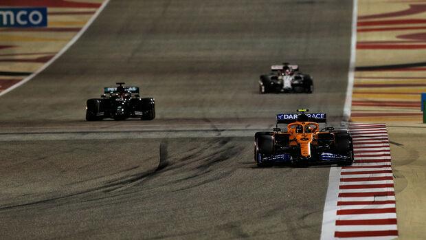 Lando Norris - McLaren - Formel 1 - GP Sakhir - Bahrain - Samstag - 5.12.2020