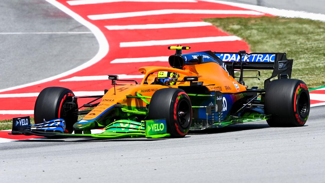 Lando Norris - McLaren - Formel 1 - GP Spanien - 7. Mai 2020