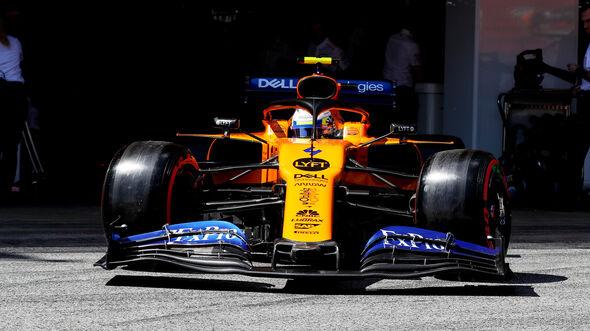 Lando Norris - McLaren - Formel 1 - GP Spanien - Barcelona - 11. Mai 2019