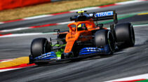 Lando Norris - McLaren - Formel 1 - GP Spanien - Barcelona - 14. August 2020