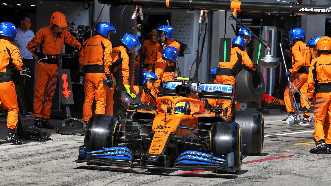 Lando Norris - McLaren - Formel 1 - GP Steiermark 2020 - Spielberg - Rennen