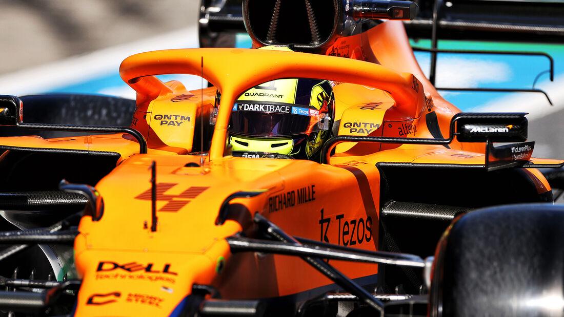 Lando Norris - McLaren - Formel 1 - GP Steiermark - 26. Juni 2021