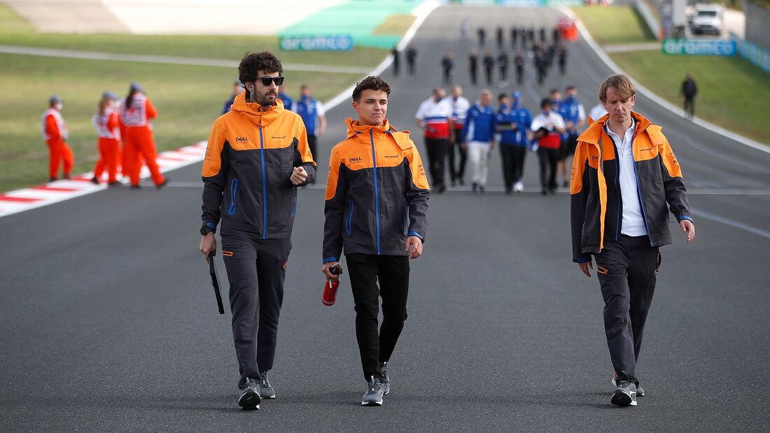 Lando Norris - McLaren - Formel 1 - GP Türkei - Istanbul - 7. Oktober 2021
