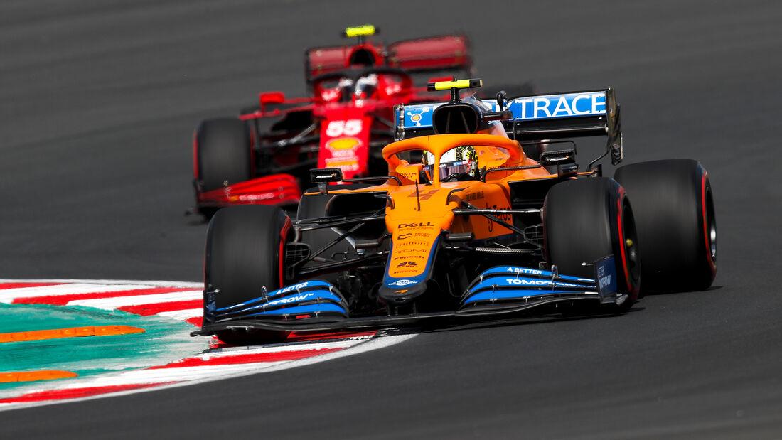 Lando Norris - McLaren - Formel 1 - GP Türkei - Istanbul - 8. Oktober 2021