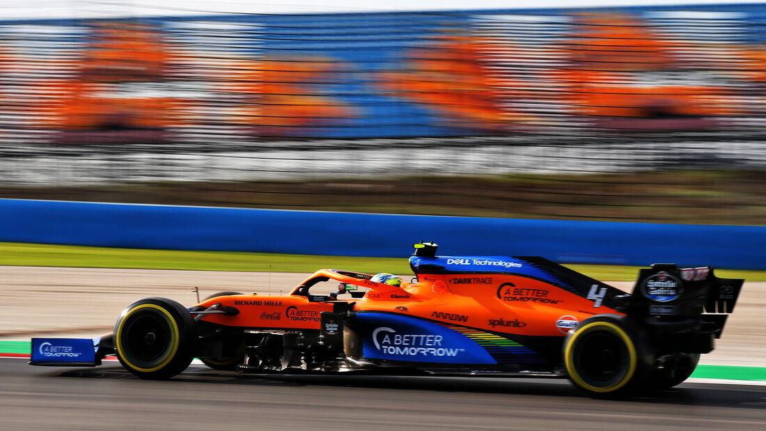 Lando Norris - McLaren - Formel 1 - GP Türkei - Istanbul - Freitag - 13.11.2020