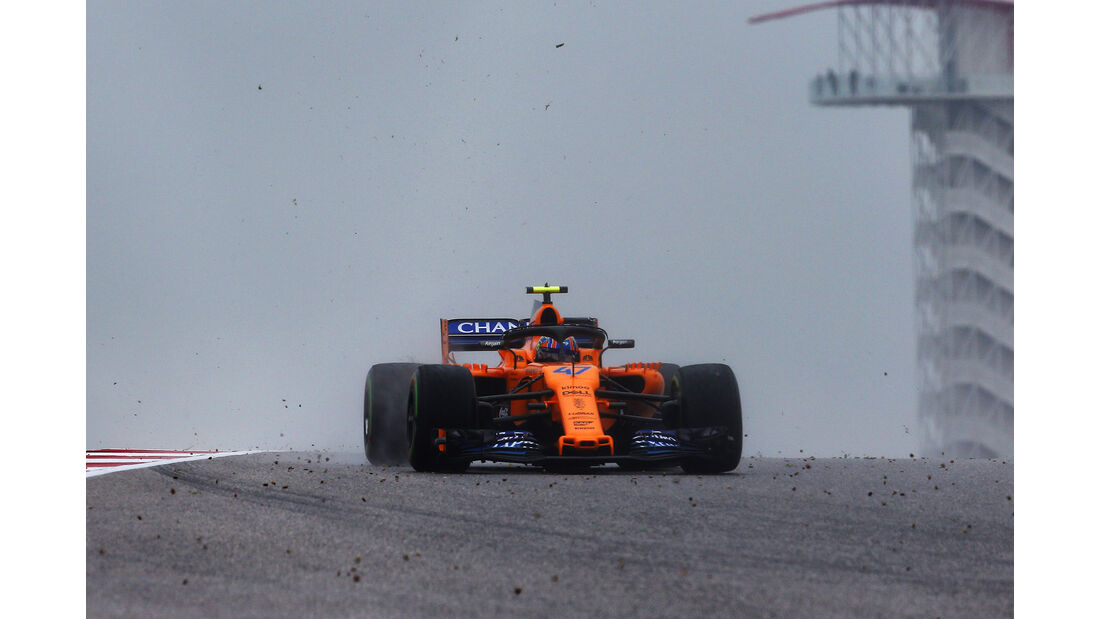 Lando Norris - McLaren - Formel 1 - GP USA - 19. Oktober 2018
