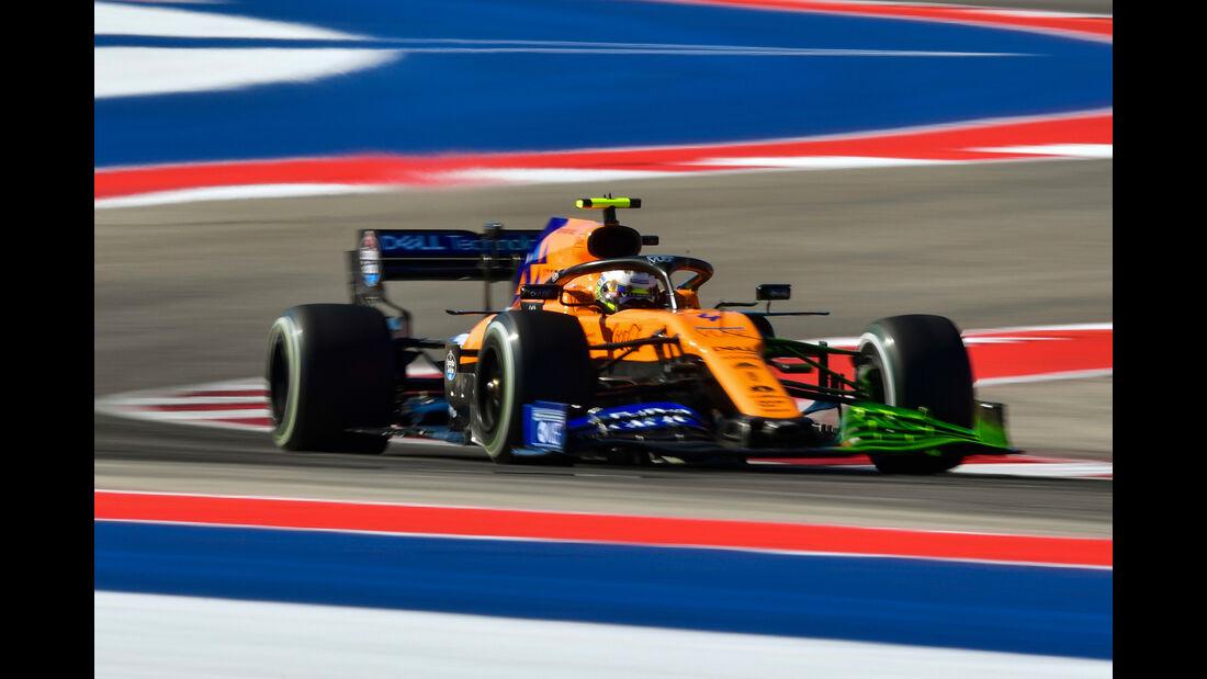 Lando Norris - McLaren - Formel 1 - GP USA - Austin - 1. November 2019