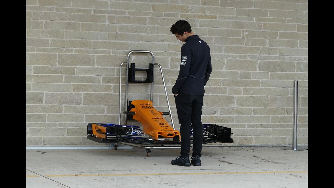 Lando Norris - McLaren - Formel 1 - GP USA - Austin - 18. Oktober 2018