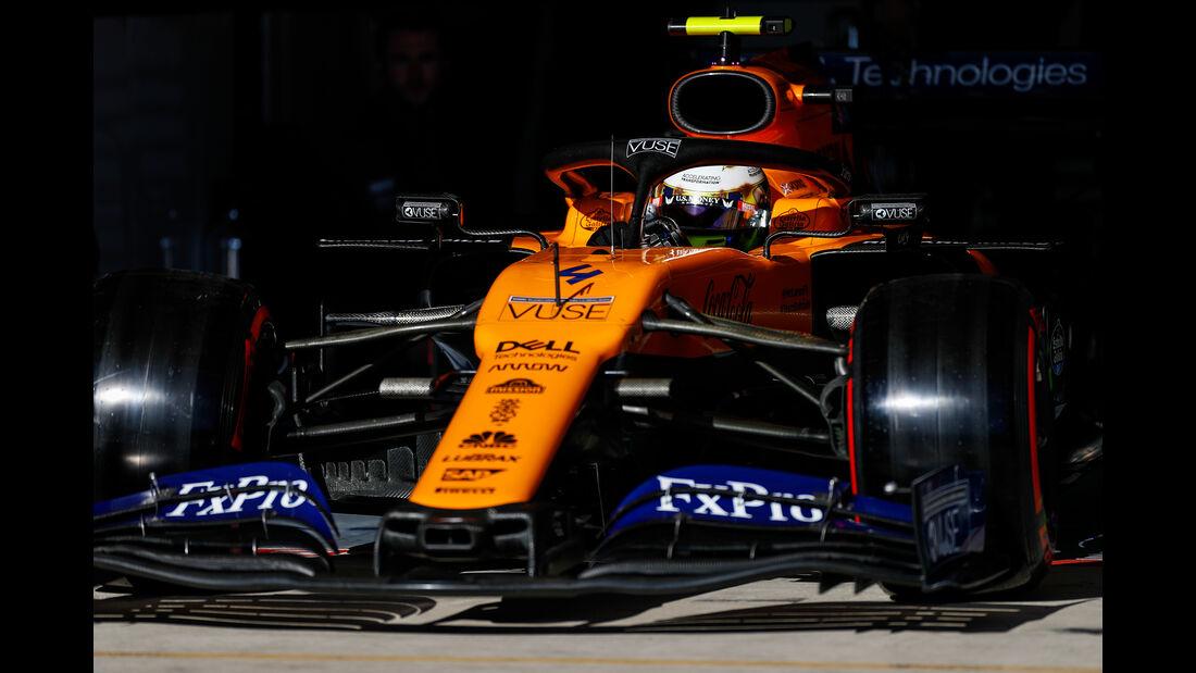 Lando Norris - McLaren  - Formel 1 - GP USA - Austin - 2. November 2019