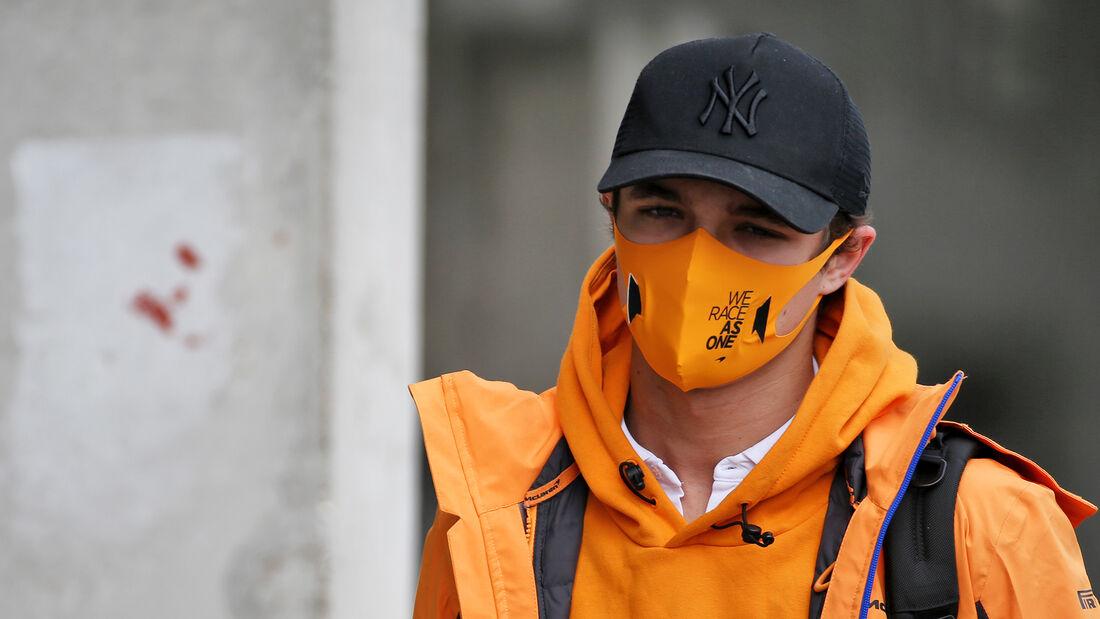Lando Norris - McLaren - Formel 1 - GP Ungarn - Budapest - 16. Juli 2020