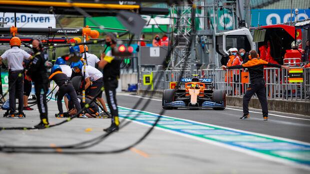 Lando Norris - McLaren - Formel 1 - GP Ungarn - Budapest - 18. Juli 2020