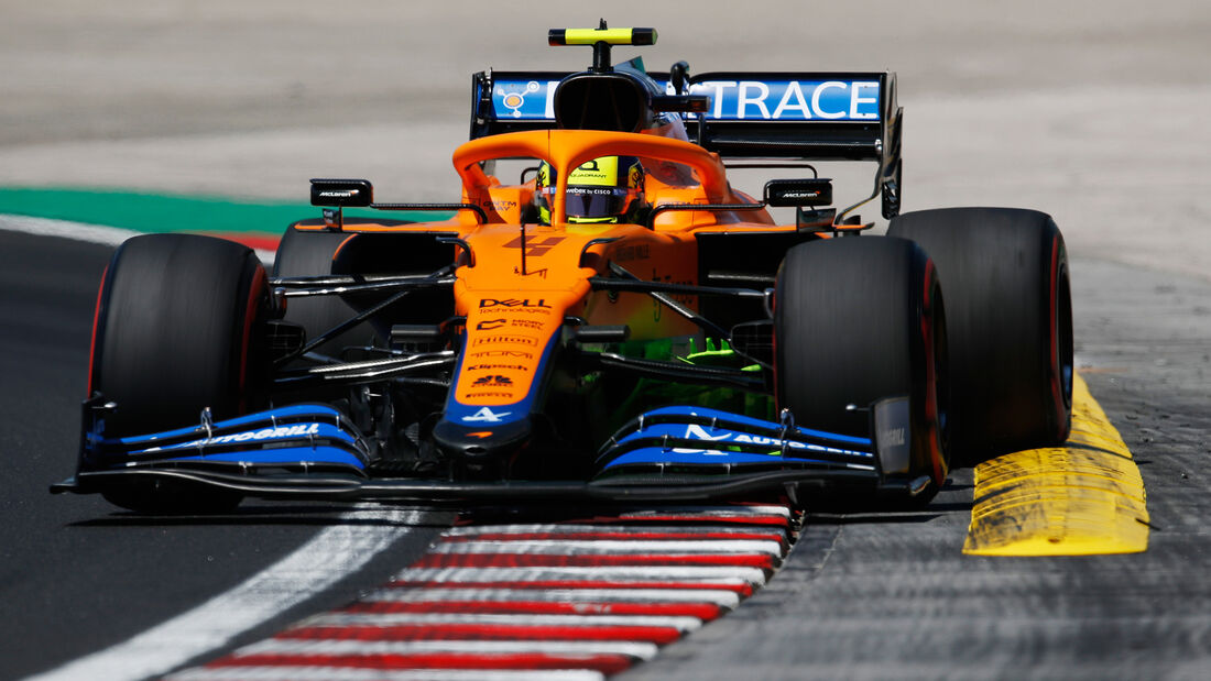 Lando Norris - McLaren - Formel 1 - GP Ungarn - Budapest - Freitag - 30. Juli 2021