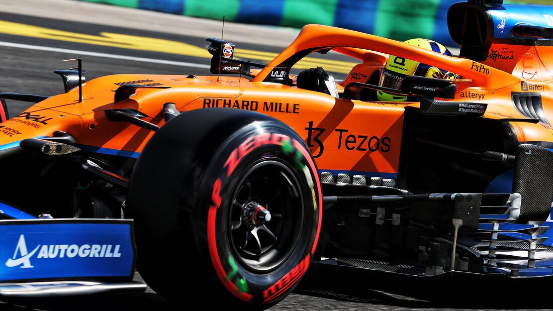 Lando Norris - McLaren - Formel 1 - GP Ungarn - Budapest - Samstag - 31. Juli 2021