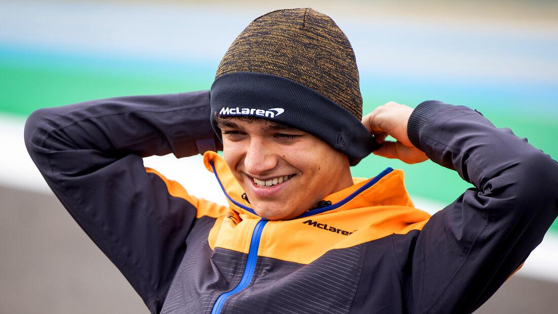 Lando Norris - McLaren - Formel 1 - Portimao - GP Portugal - 29. April 2021