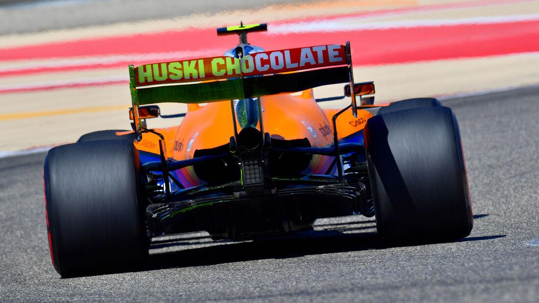 Lando Norris - McLaren - Formel 1 - Test - Bahrain - 14. März 2021