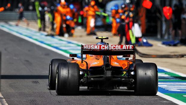Lando Norris - McLaren - GP 70 Jahre F1 - Silverstone