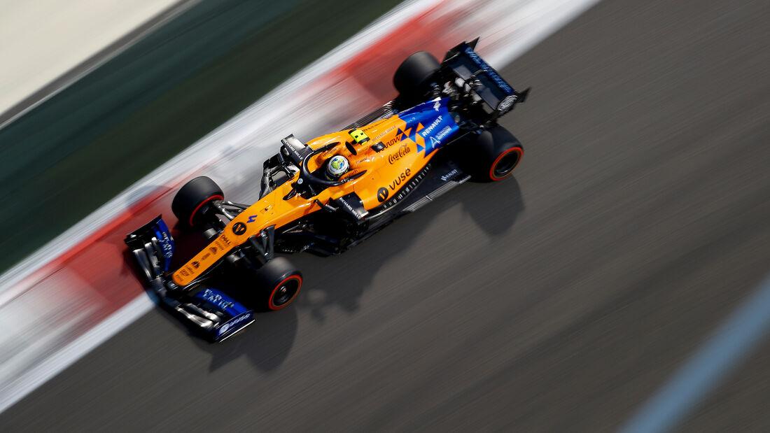 Lando Norris - McLaren - GP Abu Dhabi 2019