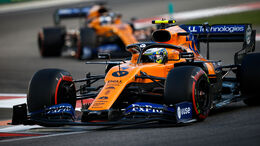 Lando Norris - McLaren - GP Abu Dhabi 2019 - Rennen