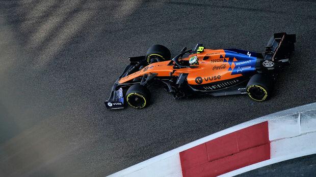 Lando Norris - McLaren - GP Abu Dhabi 2019 - Training