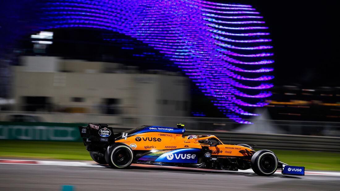 Lando Norris - McLaren - GP Abu Dhabi 2020