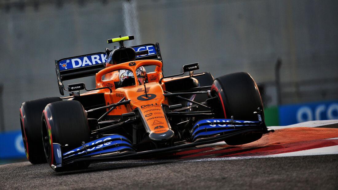 Lando Norris - McLaren - GP Abu Dhabi 2020 - Qualifikation