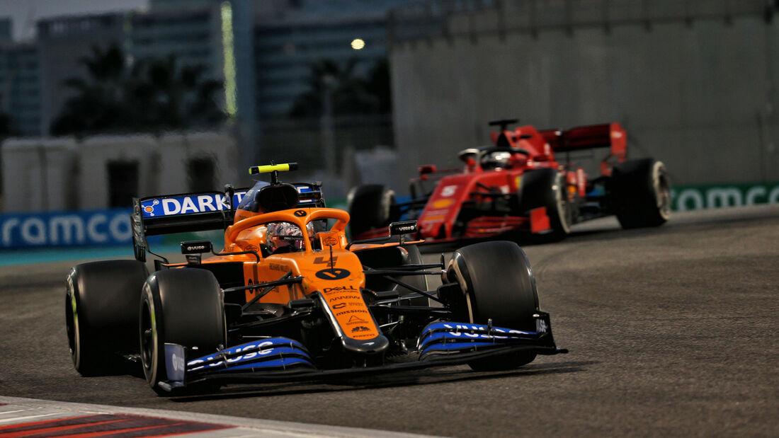 Lando Norris - McLaren - GP Abu Dhabi 2020 - Rennen