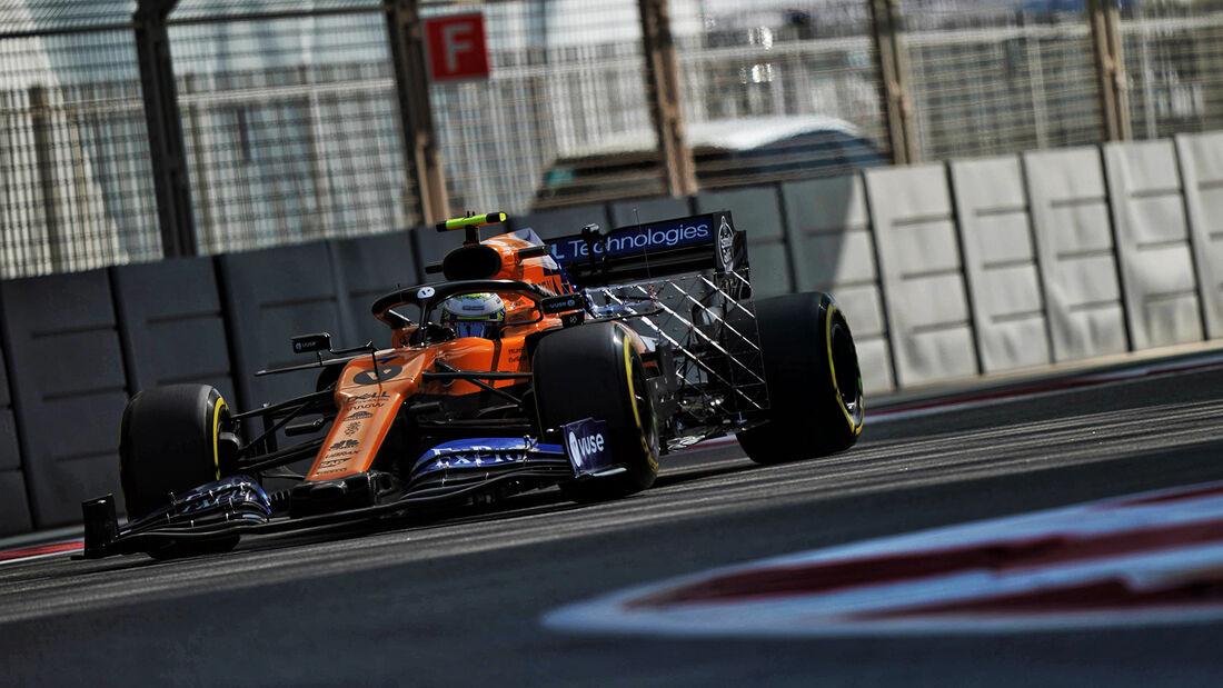 Lando Norris - McLaren - GP Abu Dhabi - Formel 1 - Freitag - 29.11.2019
