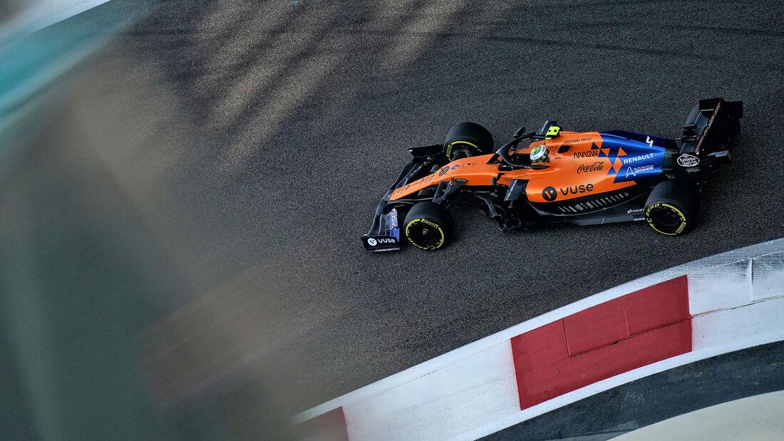 Lando Norris - McLaren - GP Abu Dhabi - Formel 1 - Samtag - 30.11.2019