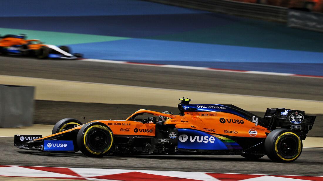 Lando Norris - McLaren - GP Bahrain 2020 - Sakhir - Rennen