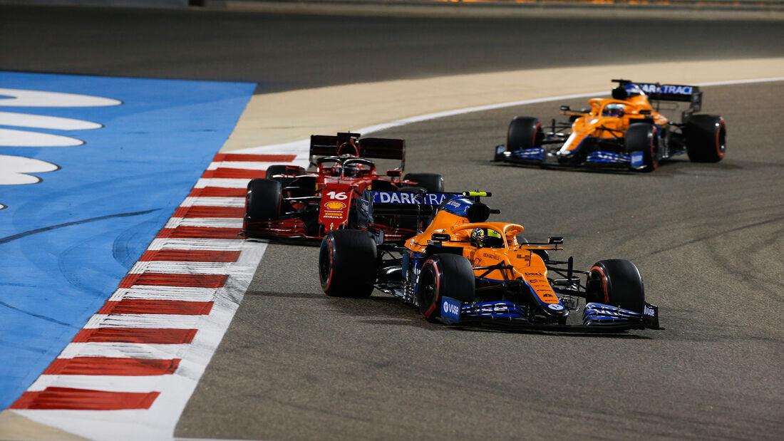 Lando Norris - McLaren - GP Bahrain 2021 - Rennen