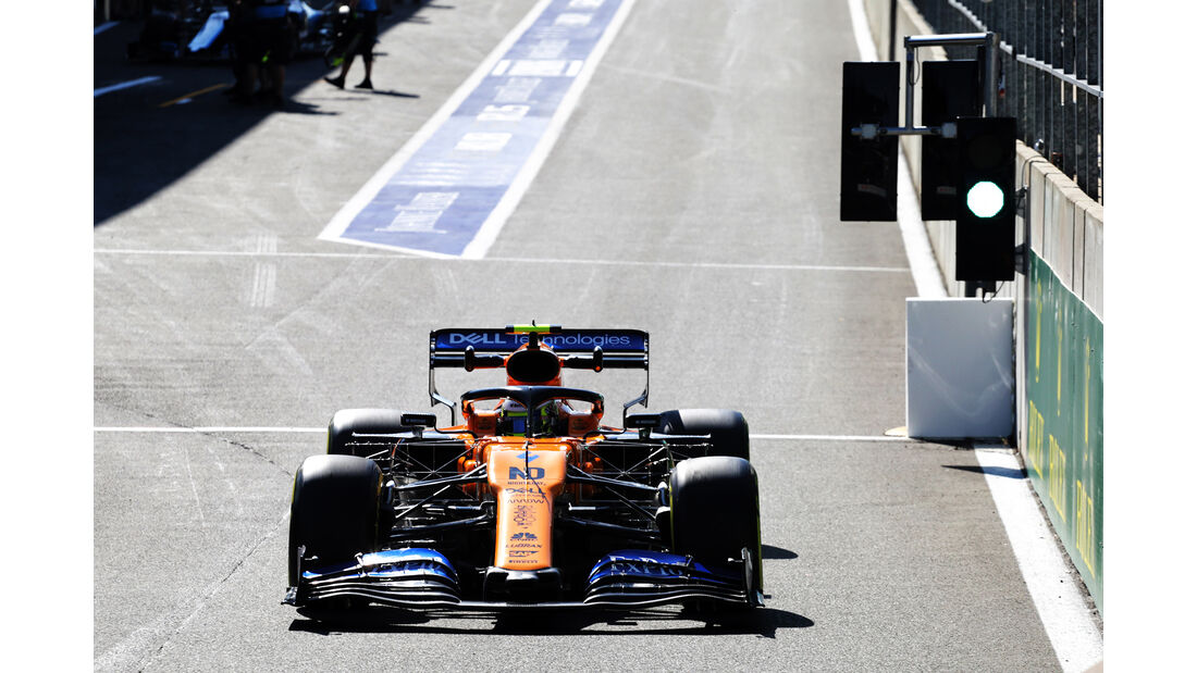 Lando Norris - McLaren - GP Belgien - Spa-Francorchamps - Formel 1 - Freitag - 30.08.2019