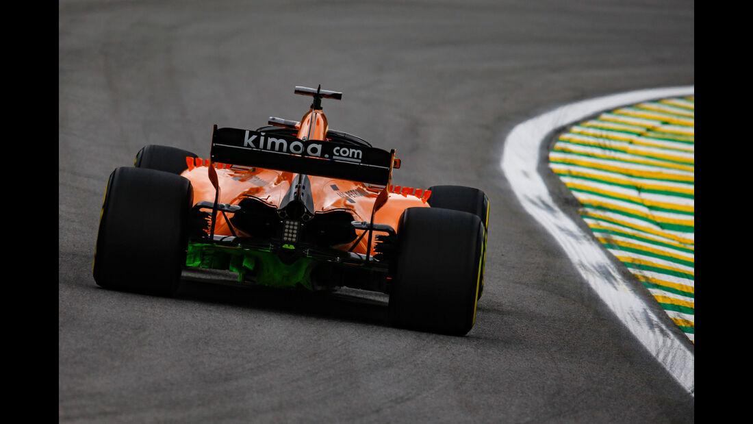 Lando Norris - McLaren - GP Brasilien - Interlagos - Formel 1 - Freitag - 9.11.2018