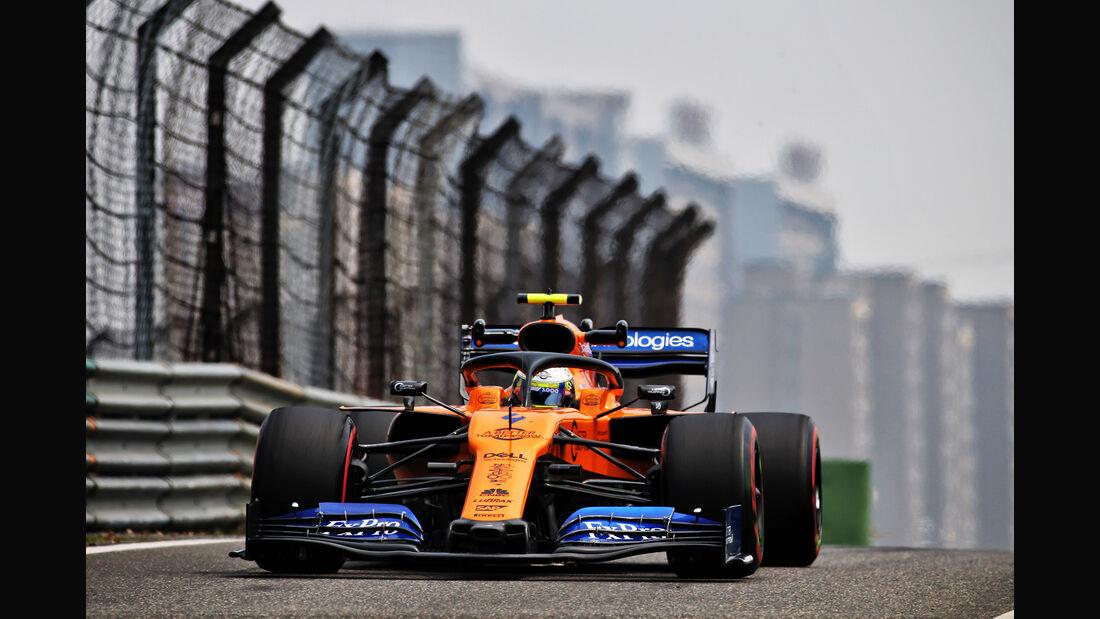 Lando Norris - McLaren - GP China - Shanghai - Formel 1 - Freitag - 12.4.2019
