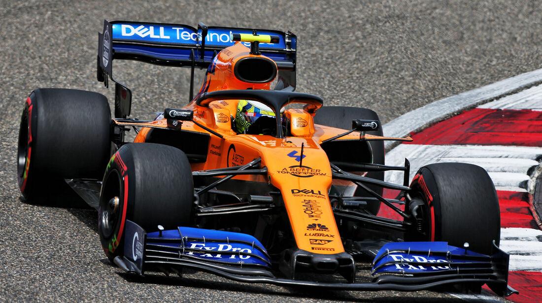 Lando Norris - McLaren - GP China - Shanghai - Samstag - 13.4.2019