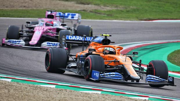 Lando Norris - McLaren - GP Emilia-Romagna 2020 - Imola