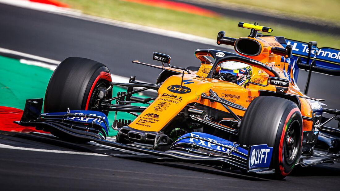 Lando Norris - McLaren - GP England 2019
