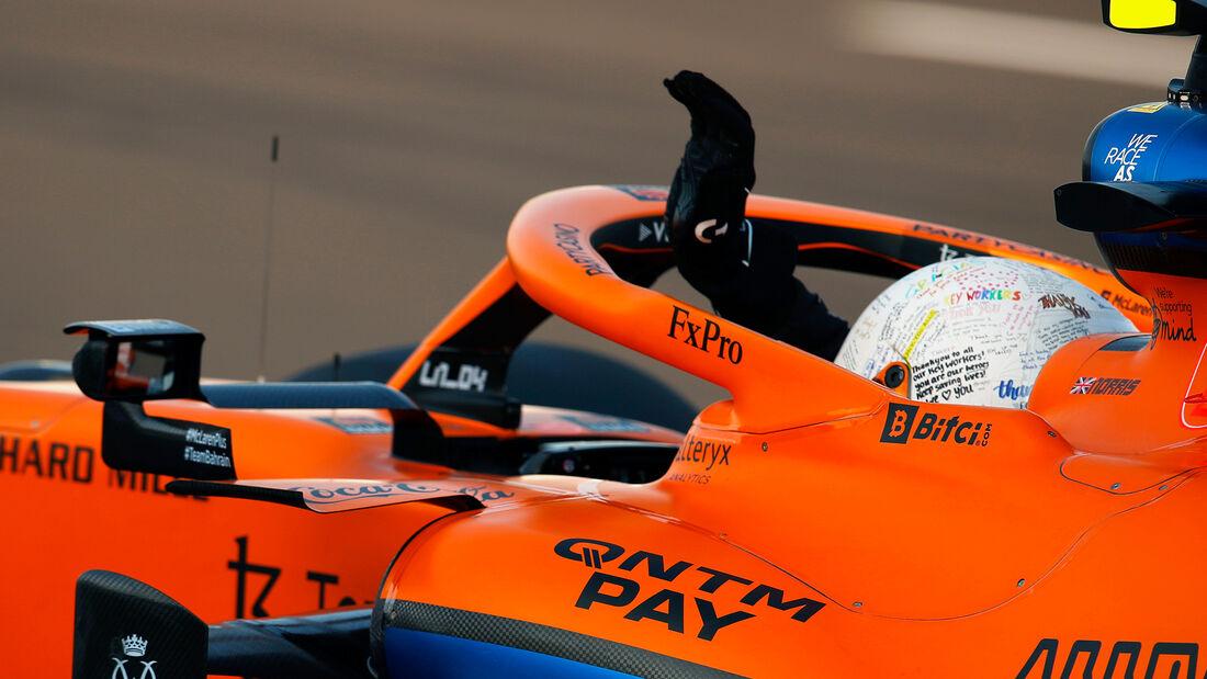 Lando Norris - McLaren - GP England - Silverstone  - Formel 1 - 16. Juli 2021